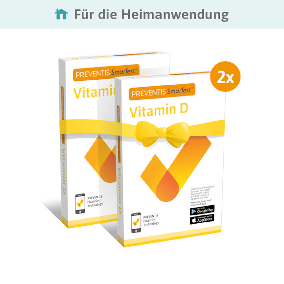 Vitamin D SmarTest® Home Doppelpack - Preventis GmbH