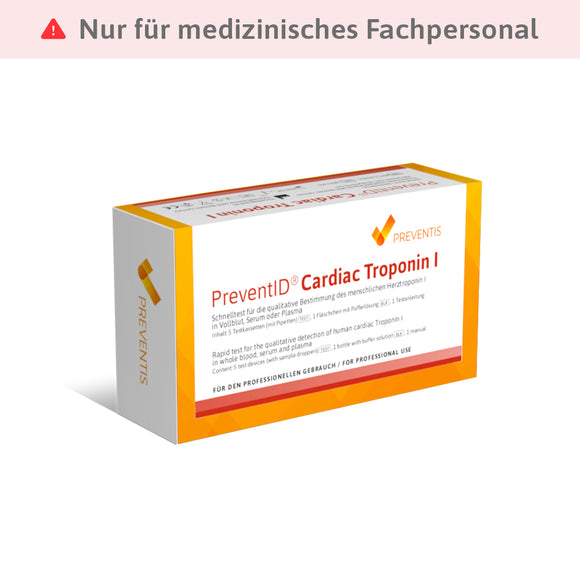 PreventID® Cardiac Troponin I - Preventis GmbH