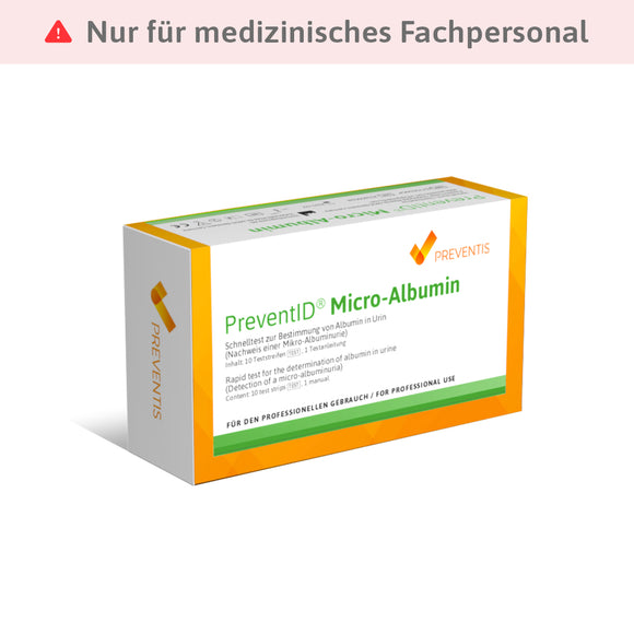 PreventID® Micro-Albumin - Preventis GmbH