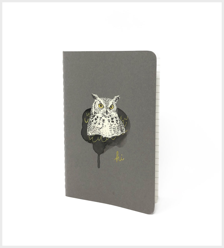 Owl Hi! :: Mini Notebook