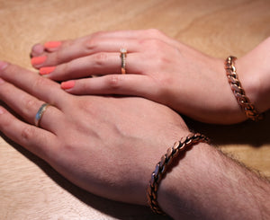 Unisex Adults Copper Bracelet - pasicraft