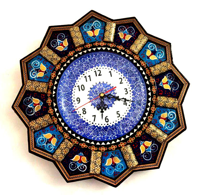 Wooden Sun Style Wall Clock - pasicraft