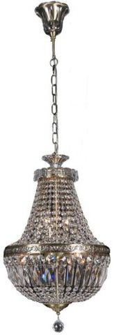 Le Pavillon Basket LRG Antique Brass - Pendant