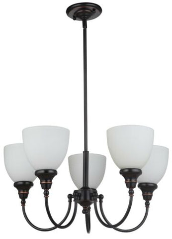 Benson 5lts Bronze Facing Up - Pendant