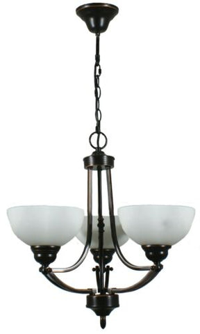 HOUSTON 3LT BRONZE - PENDANT
