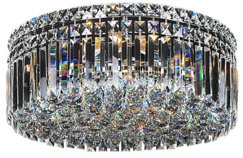 LODE LIGHTING - ROTONDO CRYSTAL SMALL FLUSH