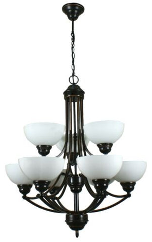 HOUSTON 9LT BRONZE - PENDANT