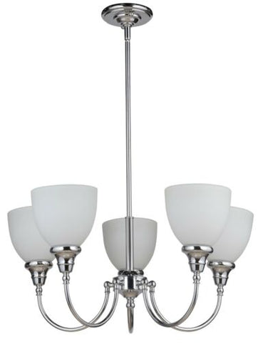 Benson 5lts Chrome Facing Up - Pendant