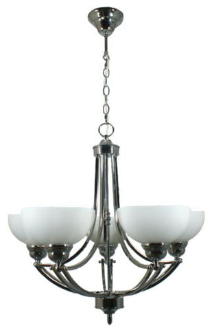 HOUSTON 5LT CHROME - PENDANT