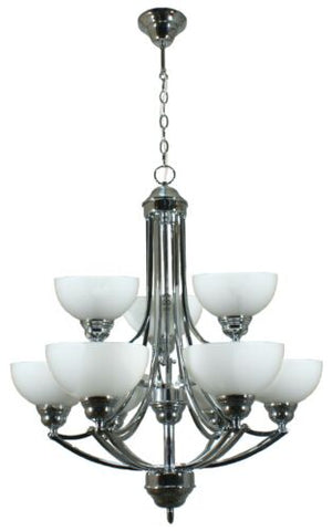 HOUSTON 9LT CHROME - PENDANT