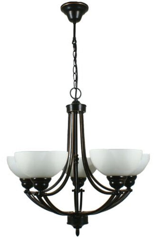 HOUSTON 5LT BRONZE - PENDANT