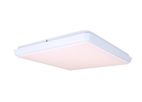 30W slimline square LED oyster-dimmable