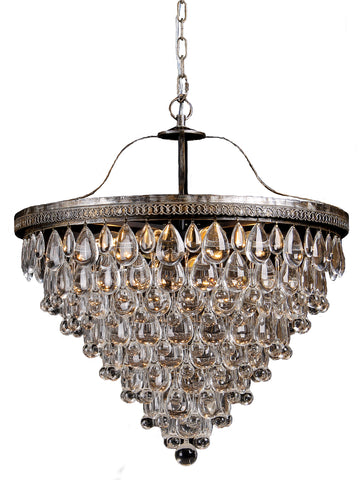 Lode Lighting - Cascade 10 Light Archaize Pendant