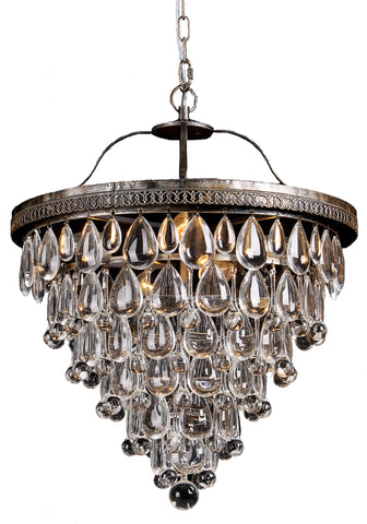 Lode Lighting - Cascade 6 Light Archaize Pendant