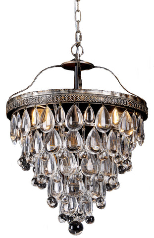 Lode Lighting - Cascade 3 Light Archaize Pendant