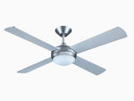 "Intercept 2 52"" Ceiling Fan - with built in LED CCT light"