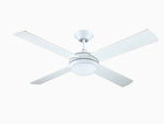 "Intercept 2 52"" Ceiling Fan - with built in LED light"