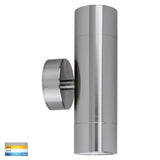 HV1008T - Maxi Tivah 316 Stainless Steel TRI Colour Up & Down Wall Pillar Lights