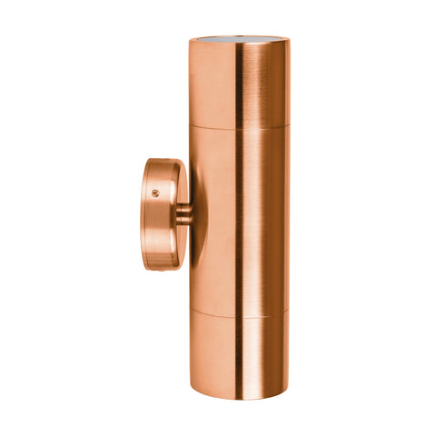 HV1015-HV1017 - Tivah Solid Copper Up & Down Wall Pillar Lights