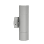 HV1045-HV1047 - Tivah Silver Up & Down Wall Pillar Lights