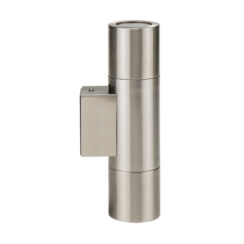 HV1071 - Piaz Stainless Steel Up & Down Wall Pillar Lights