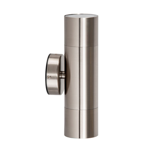 HV1072 - Fortis Stainless Steel Up & Down Wall Pillar Lights