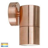HV1115T-HV1117T - Tivah Solid Copper TRI Colour Fixed Down Wall Pillar Lights