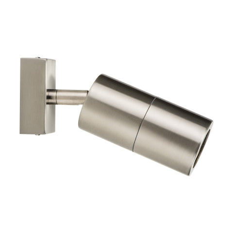 HV1271 - Piaz Stainless Steel Single Adjustable LED Wall Pillar Light