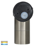 HV1272T - Fortis Stainless Steel TRI Colour Single Adjustable LED Wall Pillar Light