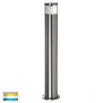 HV1601T-TTM & HV1602T-TTM - Highlite Titanium Aluminum TRI Colour LED Bollard Lights