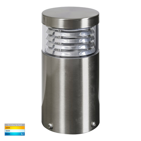 HV1615T-SS316 -Mini 316 Stainless Steel Louvred LED Bollard Light