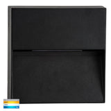 HV3276T-BLK - Virsma Black Square LED Step lights