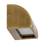 HV3283T-BRZ - RIDGE Solid Bronze LED Step Light