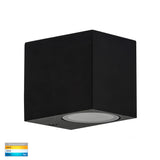 HV3631T-BLK - Accord Black TRI Colour Fixed Down LED Wall Light