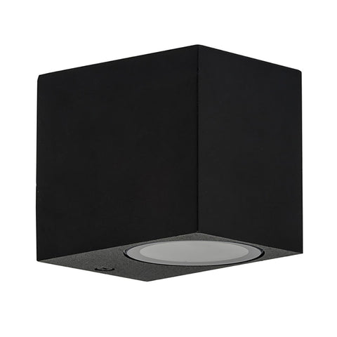 HV3631-BLK - ACCORD Black Fixed Down LED Wall Light