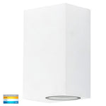 HV3632T-WHT - Accord White TRI Colour Up & Down LED Wall Light