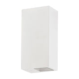 HV3633-WHT - VELDI White Square Up & Down Wall Light