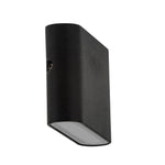 HV3641-BLK - LISSE Black Fixed Down LED Wall Light