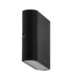 HV3642-BLK - LISSE Black Up & Down LED Wall Light