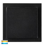 HV3667T-BLK - Pivot Black Square LED Wall Light
