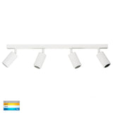 HV4001T-4-WHT - Tivah White 4 Light TRI Colour LED Bar Lights