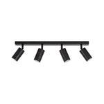 HV4001-4-BLK - Tivah Black 4 Light LED Bar Lights