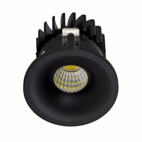 HV5702-BLK - NICHE Black Round Mini Downlight