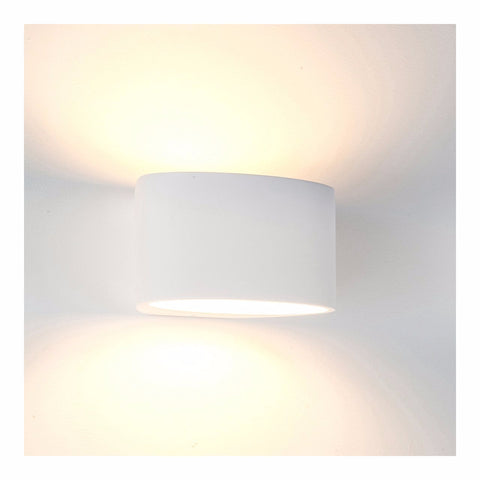 HV8026 - Arc Large Plaster LED Wall Light
