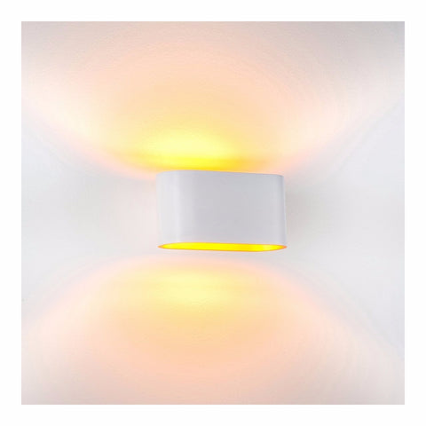 HV8028-WHT - Concept White Aluminium LED Wall Light