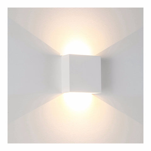 HV8061 -  Candy Square Plaster LED Wall Light