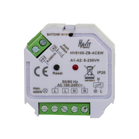 HV9105-ACSW Zigbee On-Off switch