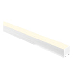 HV9693-3537-WHT - White Deep Square Aluminium Profile