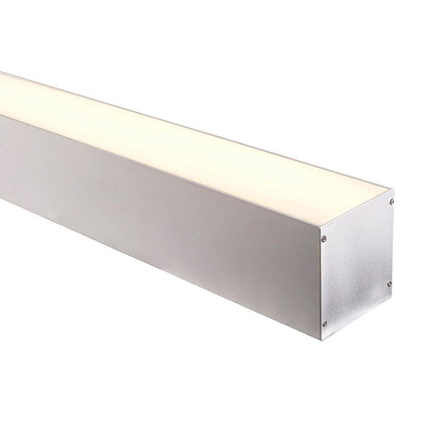 HV9693-8090 - Large Deep Square Aluminium Profile