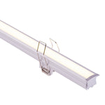 HV9695-2520 - Deep Recessed Square Winged Aluminium Profile